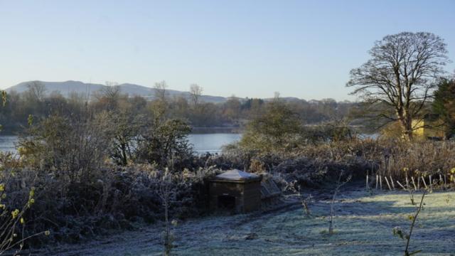 Looking over Duddingston Loch