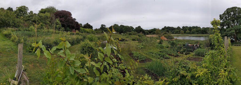 Panoramic view of the Gairden
