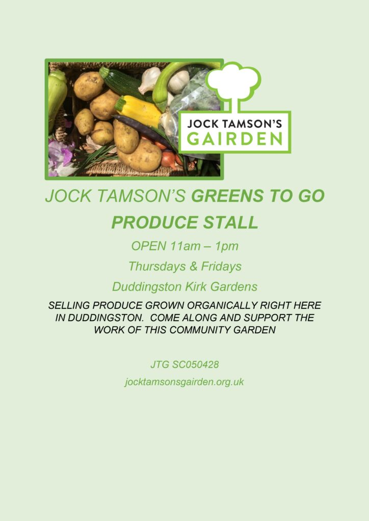 Greens to Go poster